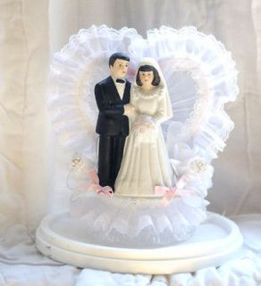 bride and groom cake topper in Cake Toppers