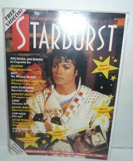 Michael Jackson Captain EO 3D  Starburst #100 1986/ MINT/ 3 Issue