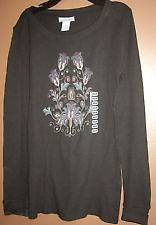 NWT Lucky Brand Jeans Black Long Sleeve THERMAL T SHIRT choice of size