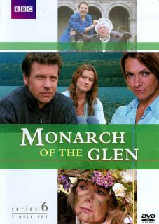Monarch of the Glen The Complete Series 6 DVD, 2010, 3 Disc Set