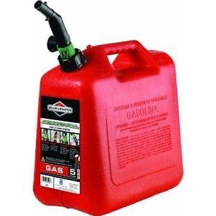 Briggs & Stratton Wedco 5 Gallon Plastic Gas Fuel Can 5 Gallon CARB