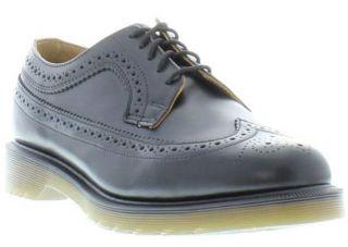 Dr Martens Shoes Genuine 3989 Brogue Mens Shoe Black Smooth Sizes UK 7