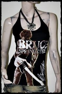 Bruce Springsteen Metal Rock DIY Sexy Halter Top Shirt