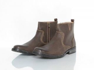New Mens Madden Shoes by Steve Madden Must Ankle Boots Brown 12
