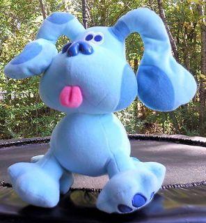 Blues Clues Dog 9 Plush Cuddle Buddy Soft Blue Stuffed Animal
