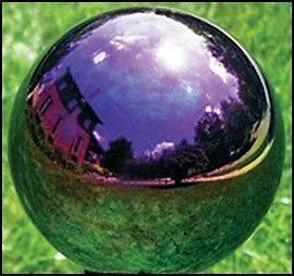 Gazing Ball Gazing Globe Echo Valley 10 Arco Iris Gazing Globe NEW