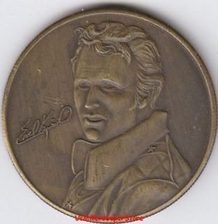 Evel Knievel The Last of the Gladiators Coin nip