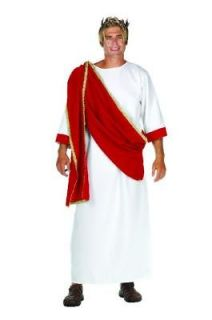 MENS CAESAR CEASAR CESAR GREEK GOD ROMAN TOGA COSTUME