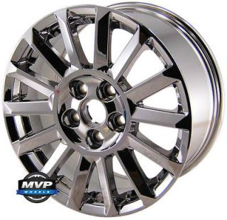 Factory OE 17 17 PVD Chrome Cadillac CTS Wheels Rims Set 4668