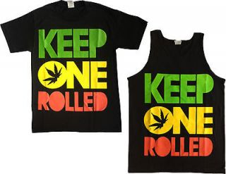 KEEP ONE ROLLED Tank Tops and Shirts Men Women Youth Drake Wiz Khalifa