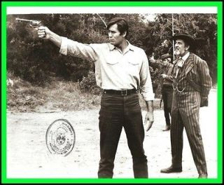 VINCENT PRICE & CLINT WALKER in More Dead than Alive Original