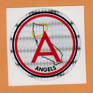 california angels sticker