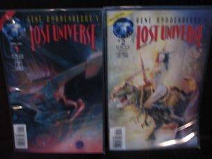 GENE RODDENBERRYS LOST UNIVERSE #1   #7, FULL RUN, NM