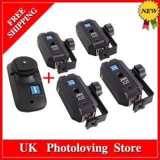 Wireless Remote control Flash Trigger Set 1 Transmitter+4 Receiver F