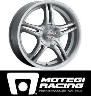 Set Of (4) MOTEGI RACING Wheels 19x8 (BMW & Cadillac CTS) Mags / Rims