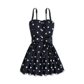 Gilly Hicks by Hollister Abercrombie Womens Pocka Dot Summer Sun