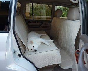 Suv Truck Car Back Seat Cover For Dogs and Cats. Quilted & Padded