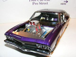 Danbury Mint RARE FIND 1968 Chevelle Pro Street MINT IN BOX Pictures