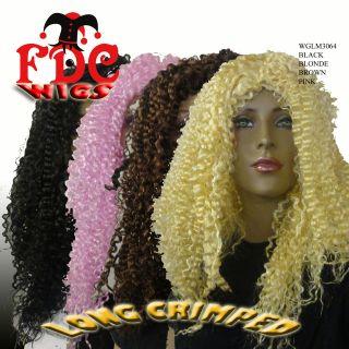 FDC WIG 70S 80S 90S MARIAH CAREY CHER NICKI MINAJ KISS HEAVY METAL
