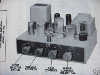 stromberg carlson in Vintage Amplifiers & Tube Amps