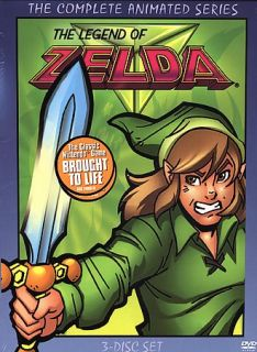 The Legend of Zelda   The Complete Animated Series DVD, 2005, 3 Disc