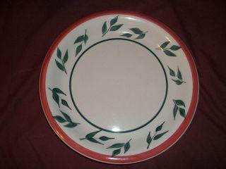 Royal Norfolk Greenbrier Int. Dinner Plate(s) Red Rim
