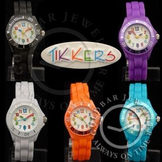 Tikkers Watch Boys & Girls Kids Childrens Bright Multi Coloured