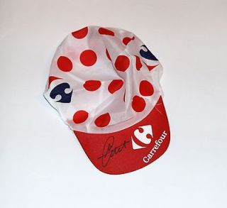 Mark Cavendish Signed Carrefour King Of The Mountains Cycling Cap with