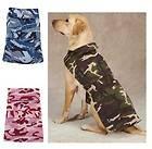 Camo Camouflage Dog Barn Coat Jacket fleece lining water resistant