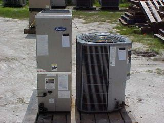 UNIT CARRIER 1.5 TON SPLIT UNIT 410A HEAT PUMP L@@K