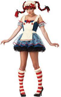 Girls Teen Rag Doll Costume CC 05046