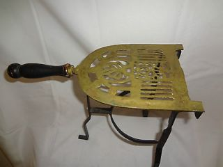 ANTIQUE BRASS IRON REST/PLANT STAND VERY ORNATE