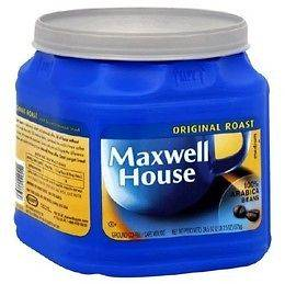 18 Maxwell House COFFEE Coupons 31.5oz or Larger $10 off 1 coupon
