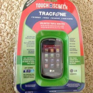 LG 800G Black (TracFone) TMFL Unlimited Triple Minutes LG800G Phone