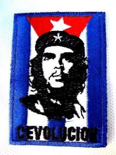 Che Guevara patch blue patches sewing t shirt hat bag pants jacket