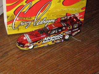 CRUZ PEDREGON 2005 SIGNED ADVANCE AUTO PARTS COLOR CHROME