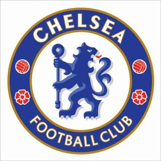 Chelsea FC 1m x 1m Vinyl Wall Football Logo Sticker Decal Crest Emblem