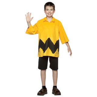 peanuts charlie brown kids halloween costume one day shipping