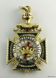 Royal Arch Blue Lodge Masonic Folding Fob 14k Gold Unique Charm