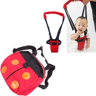 NEW RED BABY TODDLER HARNESS ASSISTANT WALKER MOONWALK NICE LEARN TO