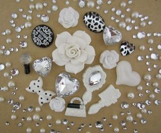 Newly listed White Lolita Style Flatback Scrapbooking DIY Phone Case