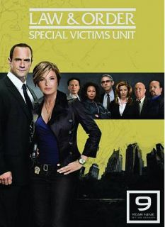 Law Order Special Victims Unit   The Ninth Year DVD, 2009, 5 Disc Set