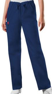 NEW Cherokee WorkWear 4100 NAVY BLUE Drawstring Unisex Scrub Pants XS