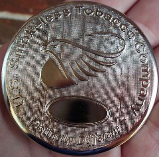 SKOAL/US SMOKELESS TOBACCO SNUFF EAGLE HEAD LIDNEW/UNUSED​
