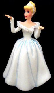 CINDERELLA DRESS Disney PRINCESS WEDDING PVC TOY CAKE TOPPER FIGURE