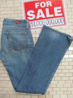 Citizens Of Humanity Beautiful Denim Blue Jean Boot Cut Womens Size 25