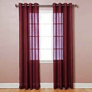 burgundy curtains in Curtains, Drapes & Valances
