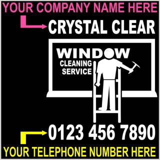 WINDOW CLEANING Hoodies ladders pole business promotion