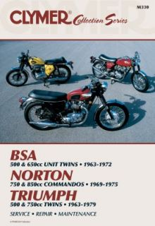 Vintage British Street Bikes by Clymer Publications Staff 1993
