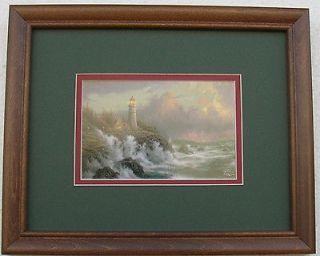 thomas kinkade lighthouse prints in Collectibles